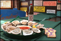 Wintzells Oyster House in Guntersville, Alabama